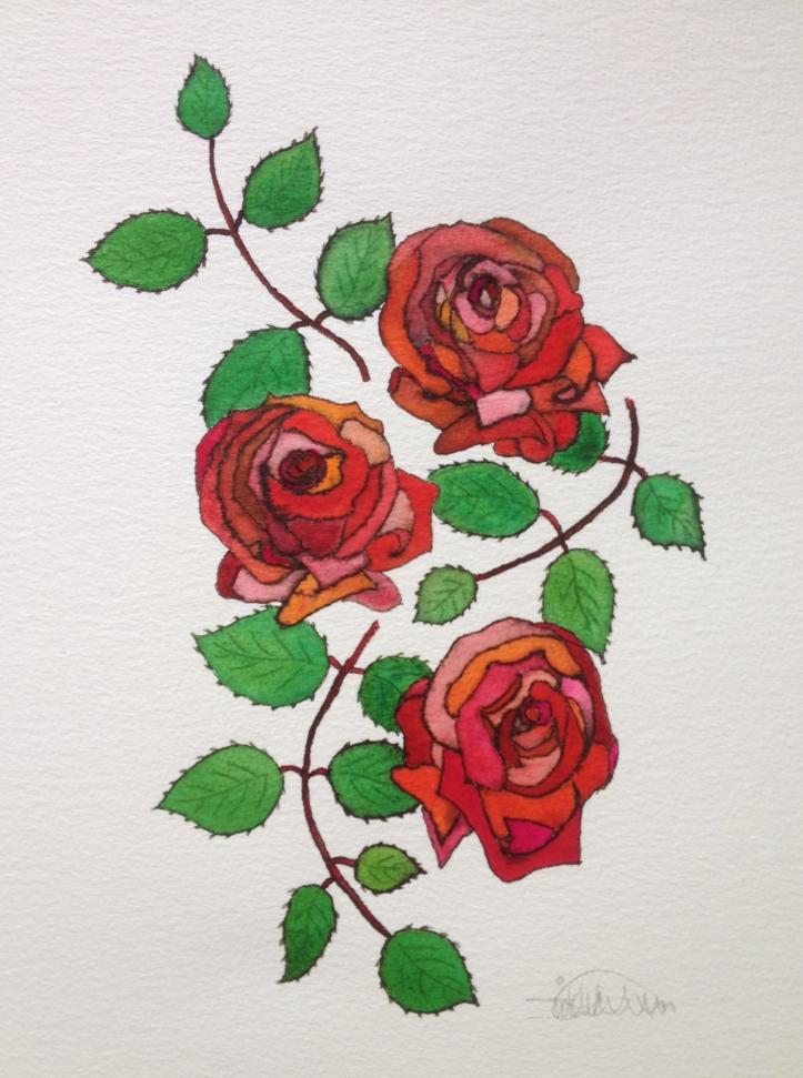 Commission Rose